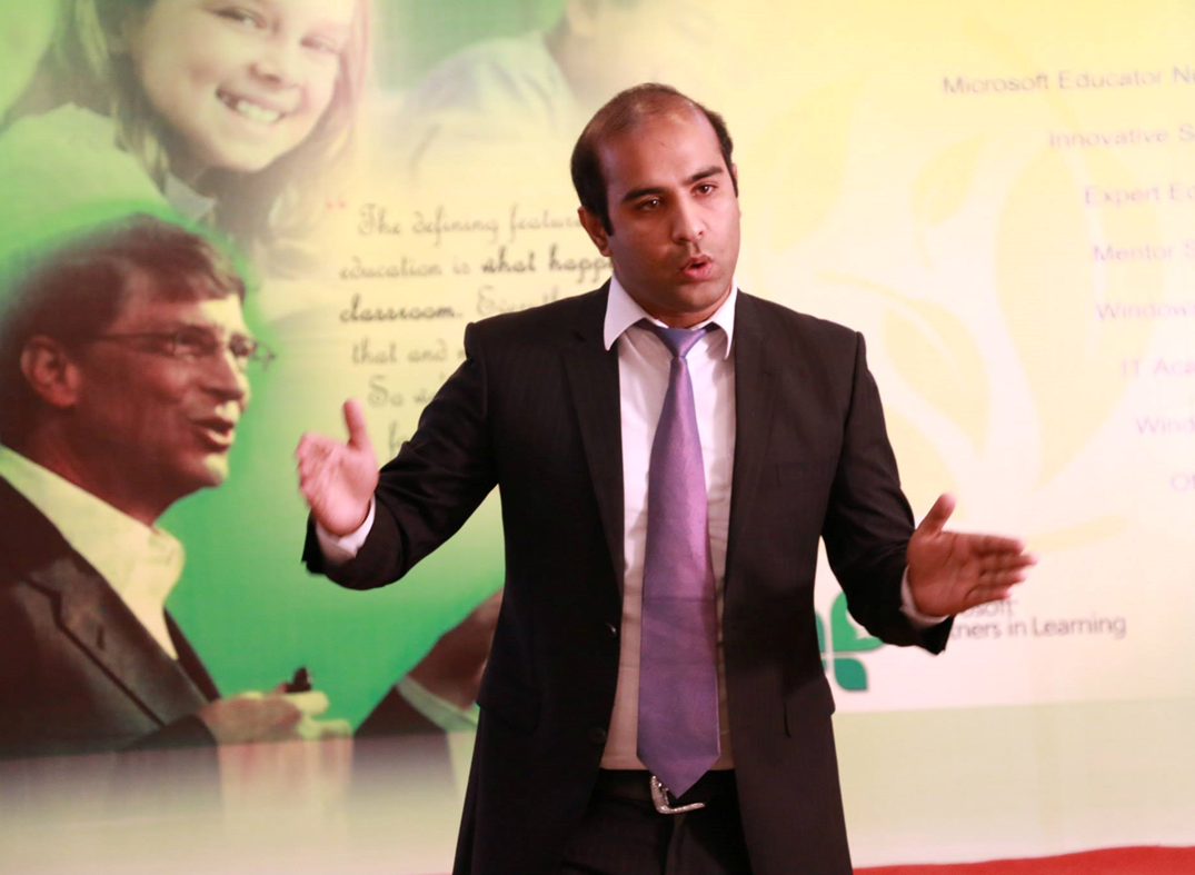 Pakistan's first Innovative Master Trainer shares his insights – Waqas Shafique, Pakistan
