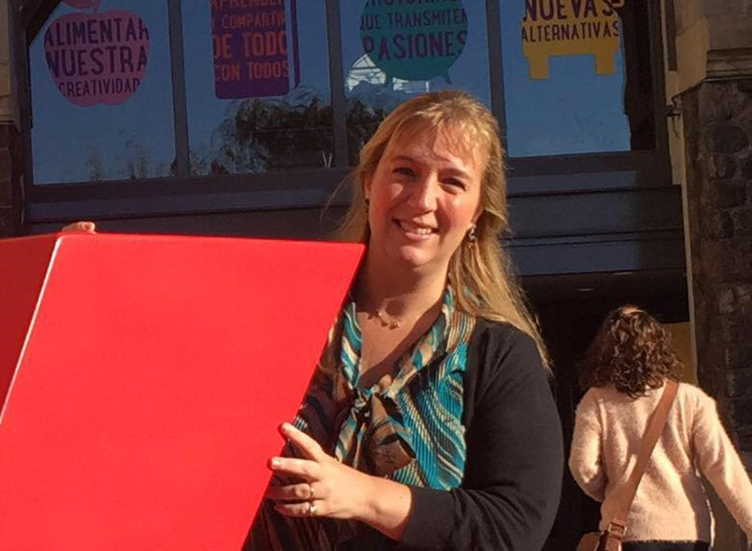 """""""My biggest hope is to make learning so powerful and memorable, that students can look for solutions to real problems."""" – Jennifer Verschoor, Argentina"""