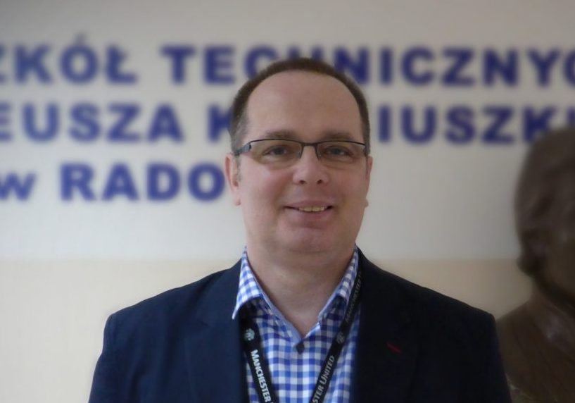 """Technology is a tool for teaching, not a substitution for the teachers."" – Artur Rudnicki, Poland"