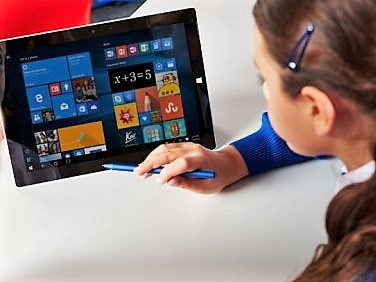 """Being introduced to the Microsoft Surface was an education game-changer for my fixed-technology mindset."" – Summer Winrotte, USA"